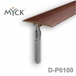 Listwa progowa PVC z okleiną drewnopodobną d-p0100
