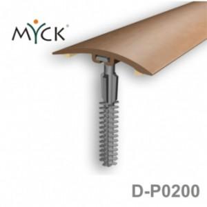 Listwa progowa PVC z okleiną drewnopodobną d-p0200