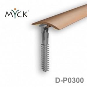 Listwa progowa PVC z okleiną drewnopodobną d-p0300