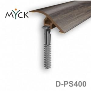 Listwa progowa PVC z okleiną drewnopodobną d-ps400
