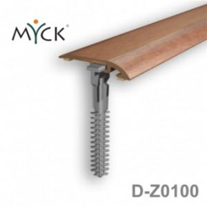 Listwa progowa PVC z okleiną drewnopodobną d-z0100