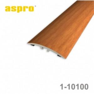 Listwa progowa aluminiowa z okleiną drewnopodobną 1-10100