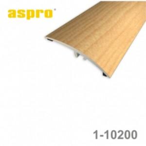 Listwa progowa aluminiowa z okleiną drewnopodobną 1-10200