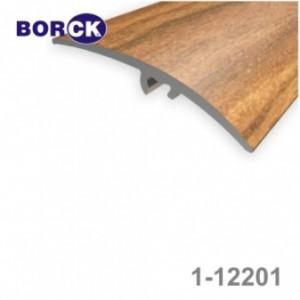 Listwa progowa aluminiowa z okleiną drewnopodobną 1-12201