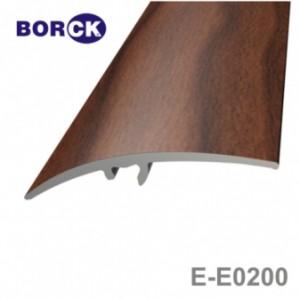 Listwa progowa aluminiowa z okleiną drewnopodobną e-e0200