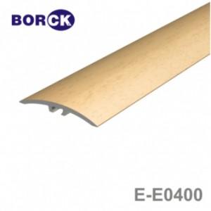Listwa progowa aluminiowa z okleiną drewnopodobną e-e400