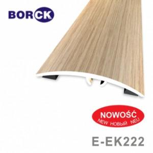 Listwa progowa aluminiowa z okleiną drewnopodobną e-ek222